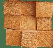 38 x 38 construction timber